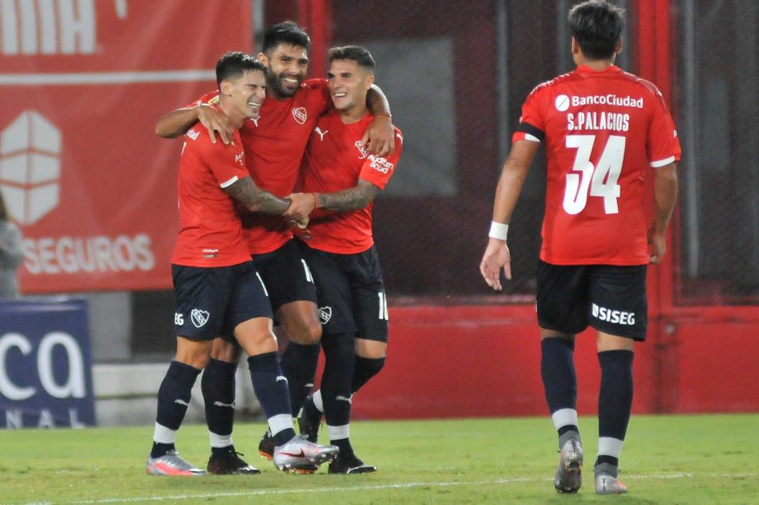 Independiente-Sarmiento Gol