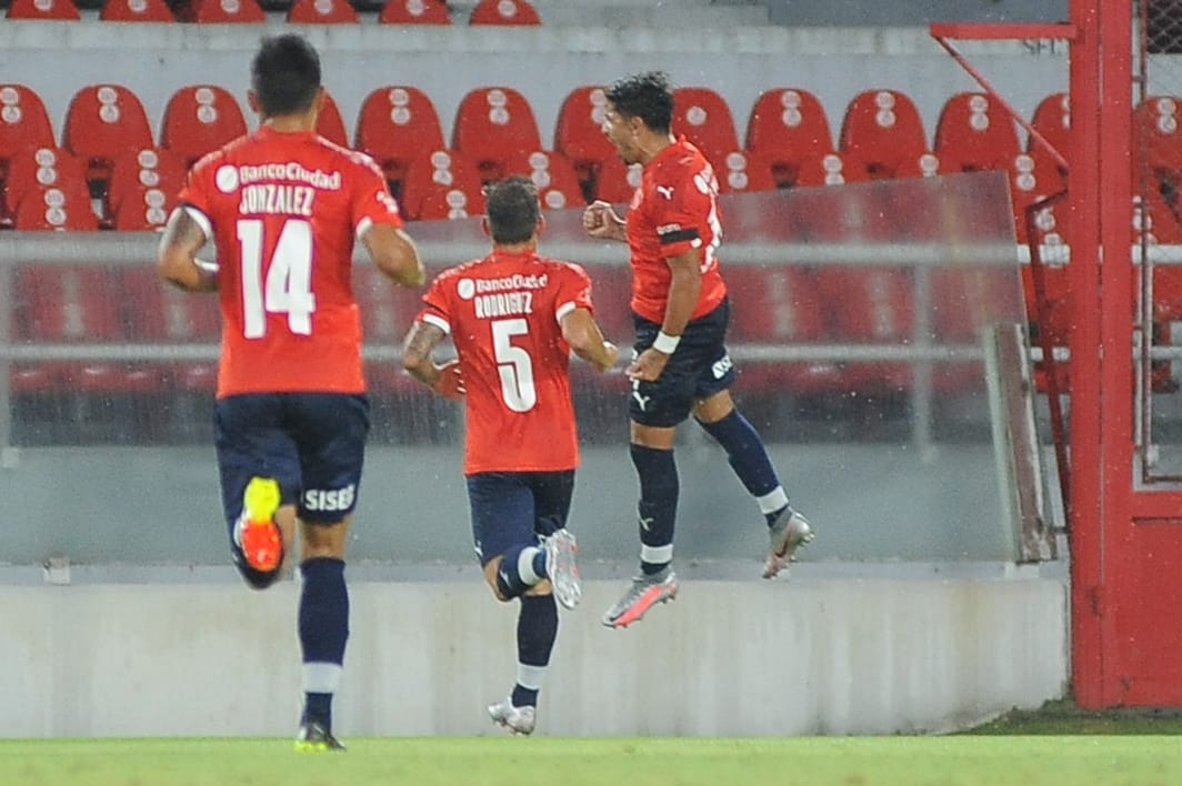 Independiente-Sarmiento Tucu Palacios Gol 2
