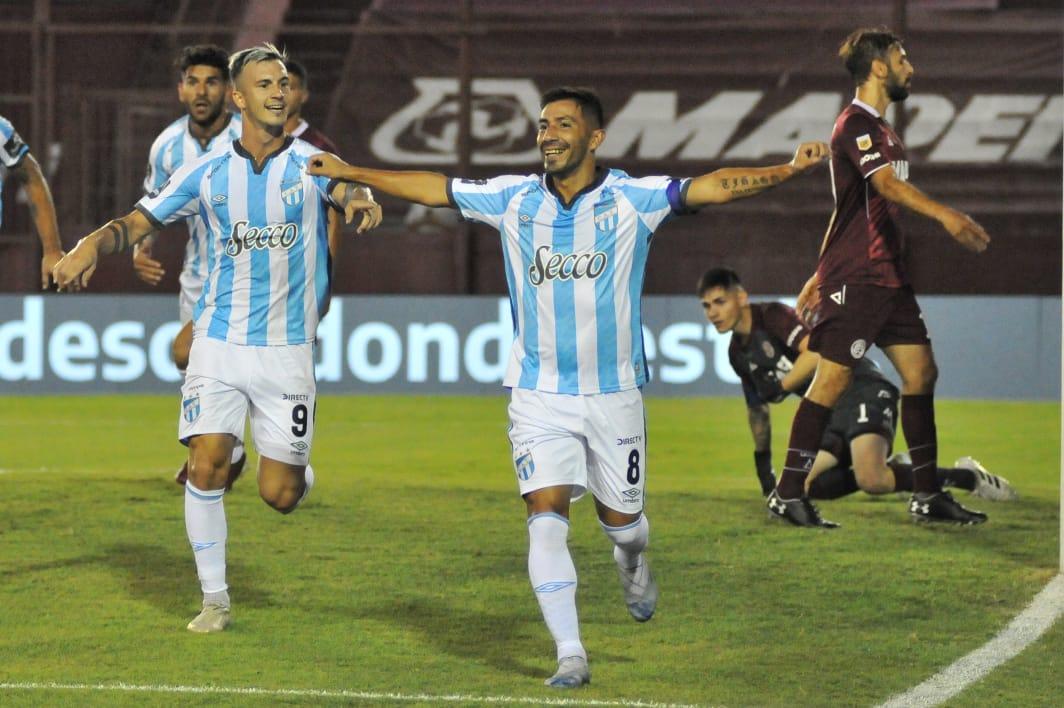 Lanus-Atletico-Tucuman-Guillermo-Acosta-Gol
