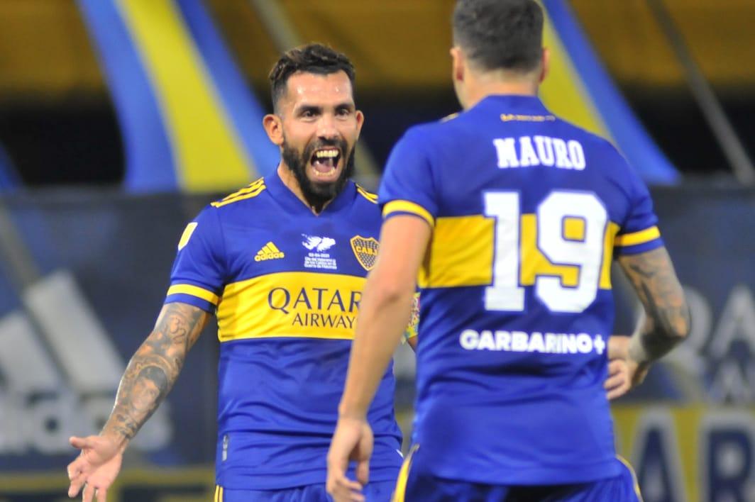 Boca-Defensa y Justicia Mauro Zarate Gol 2