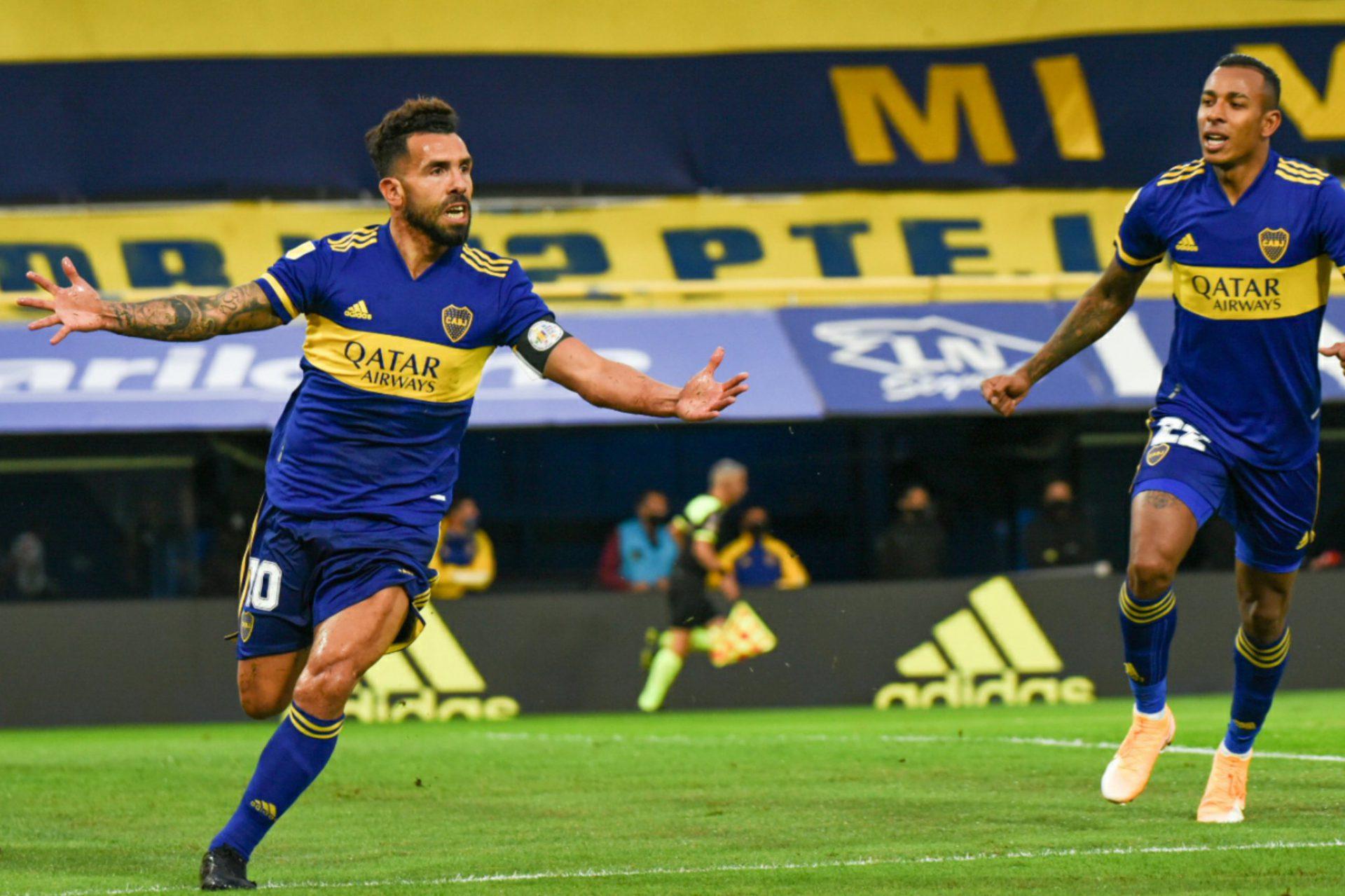 Boca-River Tevez Gol 3