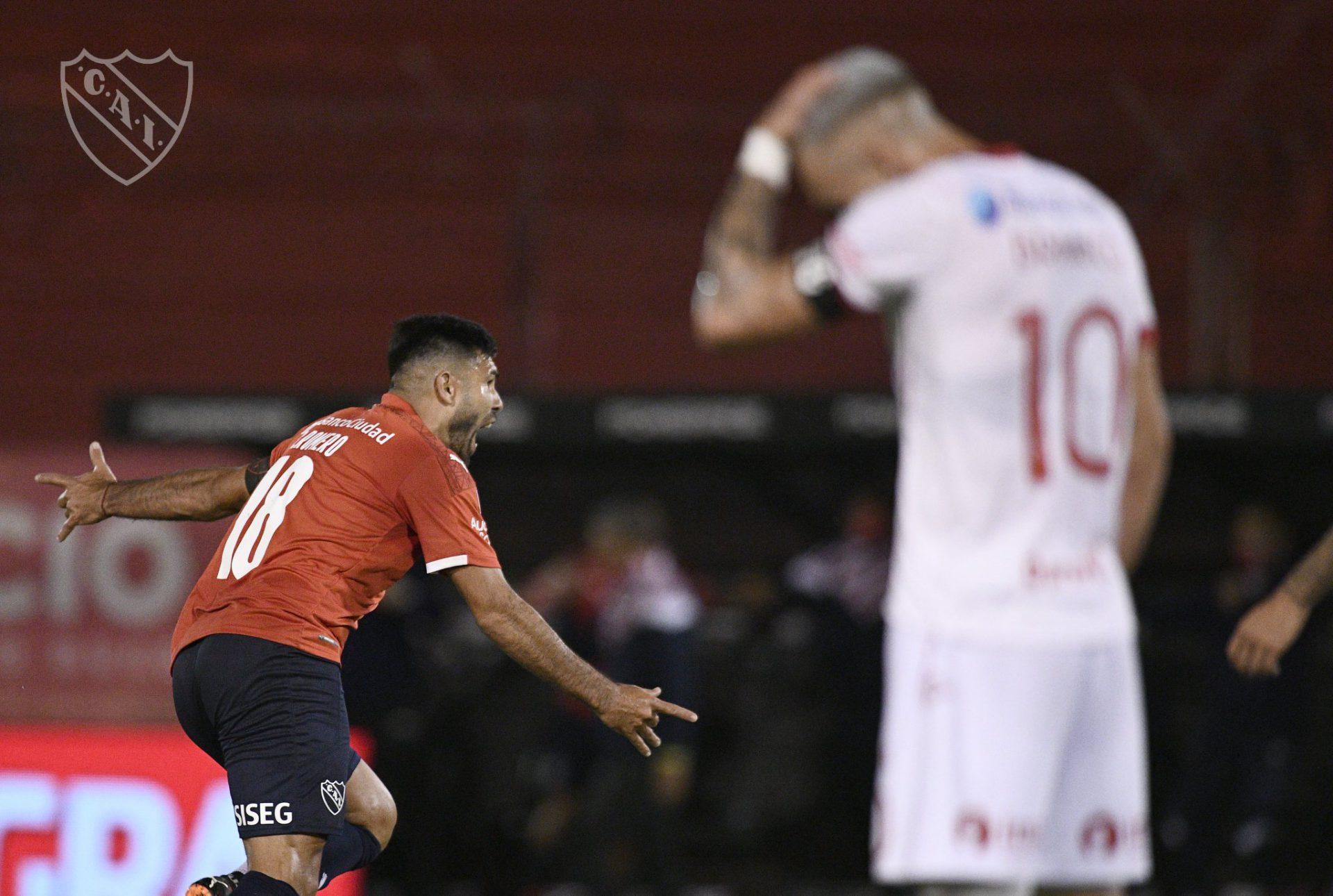 Huracan-Independiente-Silvio-Romero-Gol-Prensa-Independiente