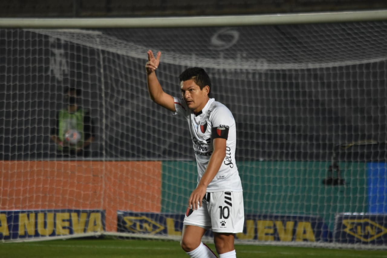 Independiente-Colon Pulga Rodriguez Gol 5